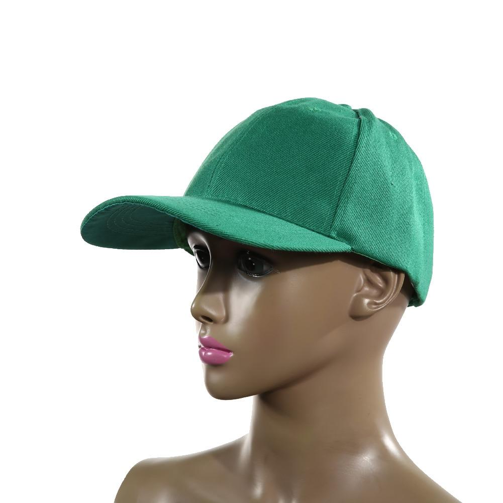 Unisex Sport Baseball Visor Hat Cap Plain Blank Golf Ball Hat Practical UV Protection Sports Hat