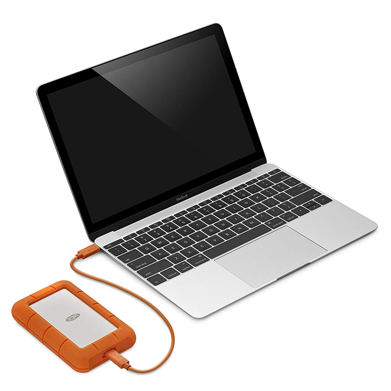 Seagate LaCie robuste 1 to 2 to 4 to 5 to USB-C et USB 3.0 disque dur Portable 2.5