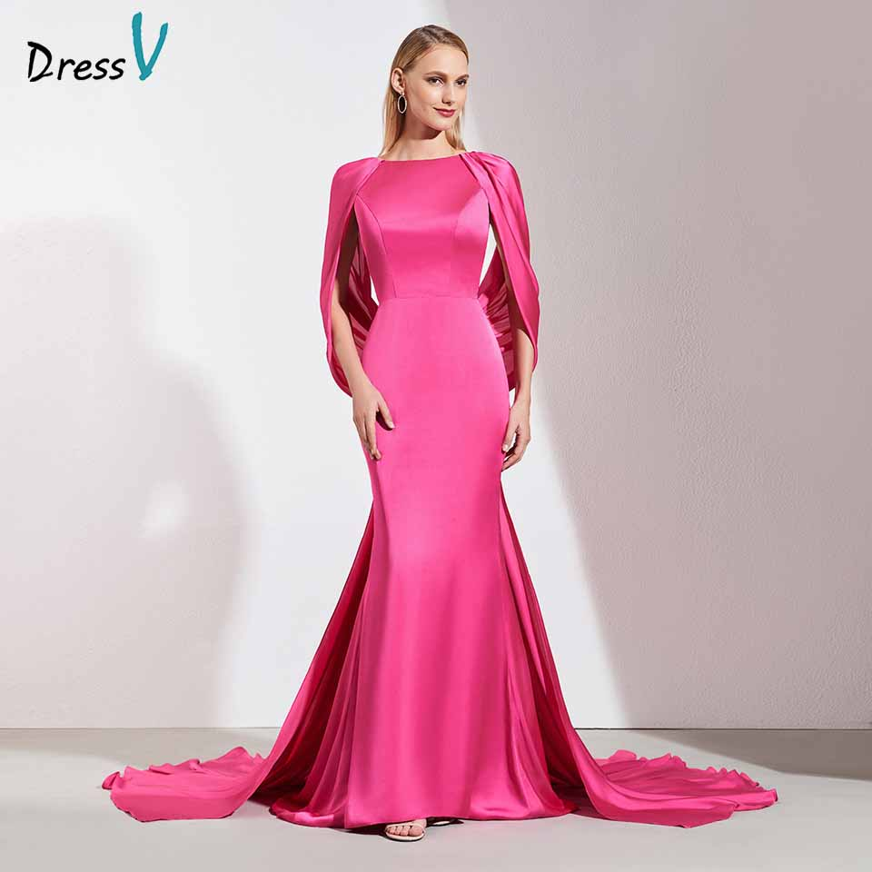 Dressv Light Plum Elegant Evening Dress Pleats Sleeveless Backless Mermaid Wedding Party Formal Dress Evening Dresses Customize