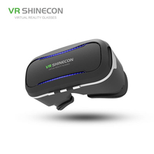 VR SHINECON Best Virtual Reality Headsets With Exquisite Face Cover For Smart Phone