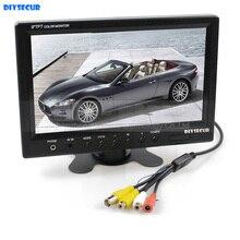 DIYSECUR 9 zoll TFT LCD Auto-Monitor Auto-hintere ansicht Bildschirm mit BNC/Av-eingang Fernbedienung DVD VCR