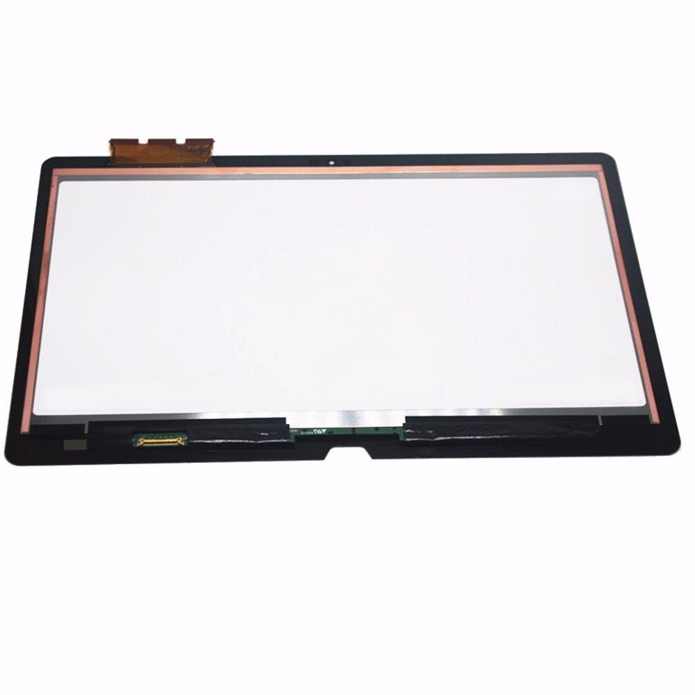 New 13.3 Full  Touch Glass Digitizer + LCD Screen Display Assembly For Sony Vaio SVF13N1ASNB SVF13N25CLB SVF13NA1UU SVF13N1ASNB new 11 6 for sony vaio pro 11 touch screen digitizer assembly lcd vvx11f009g10g00 1920 1080