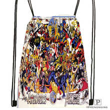 Custom marvel character group Drawstring Backpack Bag Cute Daypack Kids Satchel Black Back 31x40cm 2018612 01