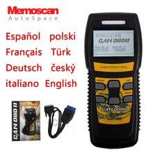 Nuevo Memoscan U581 OBDII EOBDII Car Automotriz de Diagnóstico Del Escáner Herramienta CAN OBD 2 II Lector de Código Auto Scan Escanear Automoviles