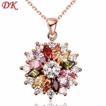 Fashion Trade Fashion Lady Necklace Crystal Women Jewelry Gi