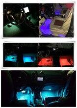 2018 1 компл.. Интерьер светодио дный светодиодный неоновая лампа для Dacia duster logan sandero stepway lodgy mcv 2 SEAT LEON Ibiza Opel Astra G/GTC/J/H