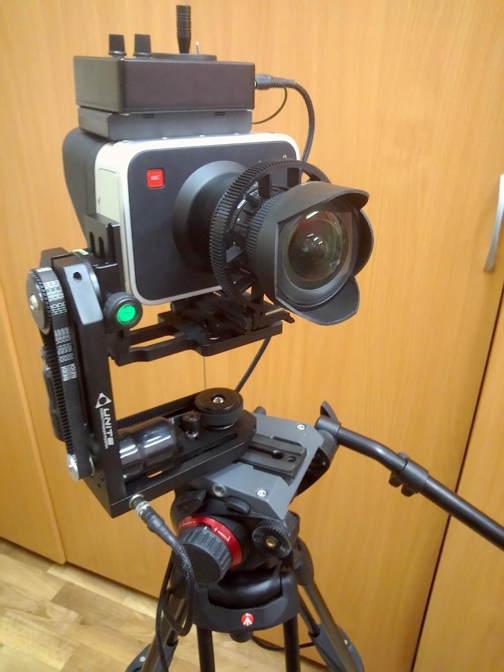 Diy Camera Crane Pan And Tilt
