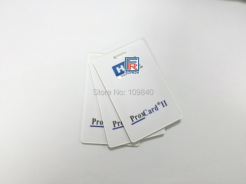 125khz H ID Prox Card II 1326 Clamshell RFID Rewritable Proximity H-ID Thick Writable Cards
