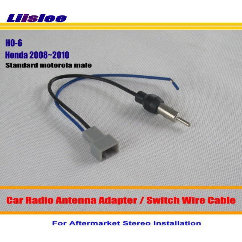 Liislee For <font><b>Honda</b></font> Accord/CRV/Civic/Insight/Odyssey/Fit/FRV/<font><b>Jazz</b></font>- Car <font><b>Radio</b></font> Antenna <font><b>Adapter</b></font> Stereo Antenna Wire Cable image