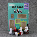 Color boxed Backkom diary moomin characters Back kom PVC Figure toy Gift for KIDS