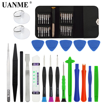 цена на UANME 46 in 1 Torx Screwdriver mobile Phone Repair Tool Set Hand Tools for IPhone Mobile Phone Xiaomi Tablet PC Small Toy Kit
