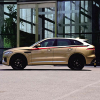 World Datong Sport Stripes Car Stickers For Jaguar F PACE E PACE I PACE car Both side body sport auto stickers