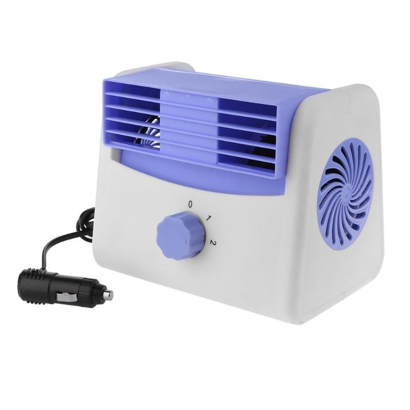 Bladeless fan 2-Speed Silent Strong Wind Cooling fan Air Cooler portable summer Air Conditioner Fans for home office Car Truck 4 inch summer cooler mini car truck cooling fan vehicle cooling air fan car suction cup fan cooling air fan 12v powered