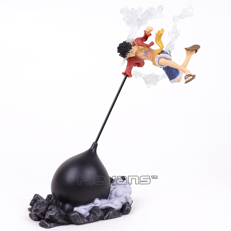 Anime One Piece SCultures BIG Banpresto Figure Colosseum Gear Third Monkey D Luffy PVC Figure Collectible Model Toy 26.5cm