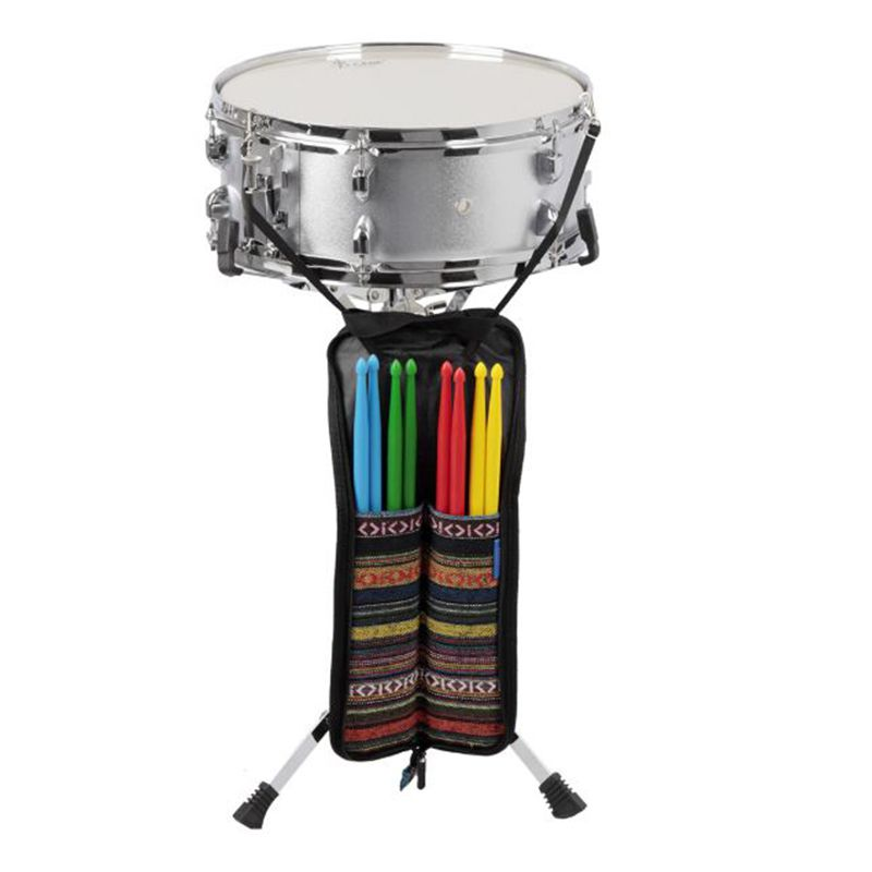 45.5 Cm Waterproof Drumsticks Handy Strap Percussion Bag Folk Drum Stick Holder Bag Case Capacity 4pairs