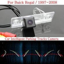 Автомобиль Интеллектуальные Парковка Треков Камера ДЛЯ Buick Regal 1997 ~ 2008/HD Резервного копирования Камера Заднего Вида/Заднего вида камера