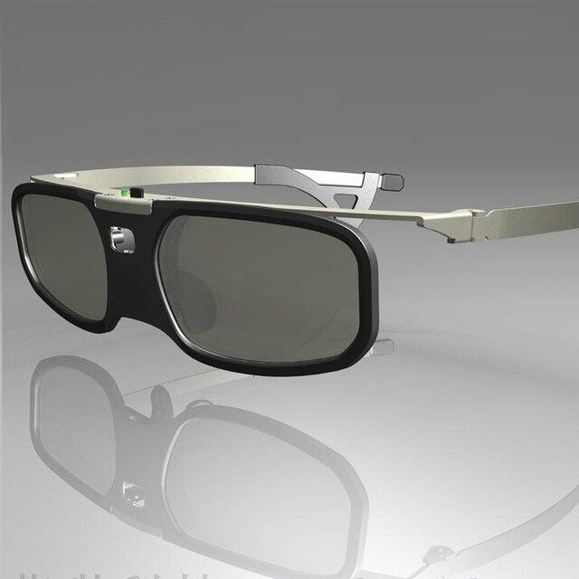 1pcs Shutter 3D glasses DLP glasses for BenQ/Z4/H1/G1/P1 compatible 96-144HZ DLP-LINK projectors with Myopia clip