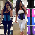 *USPS* Hot Belt Body Shapers Latex Waist Cincher Waist Corsets Underbust Waist Trainer Slim Fajas bodysuit women Latex