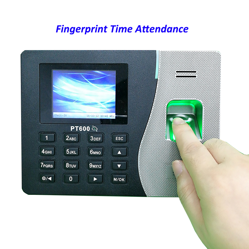 Tcp/ip Fingerprint & Password Time Attendance System Employee Fingerprint Time Management System Time Recording