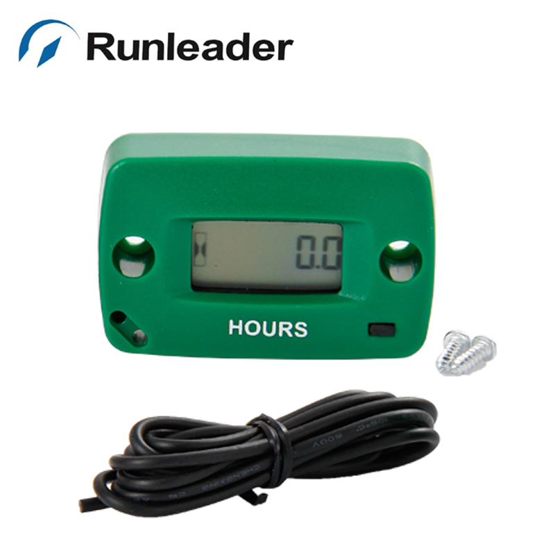 lcd Gas Engine Hour Meter for motocross motorcycle chainsaw ATV pit bike mower JET SKI RL-HM018