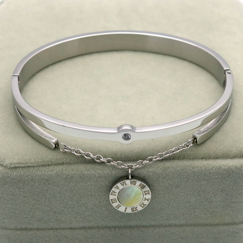 2016 mode smycken nya svarta harts kristaller kvinnor armband charm - Märkessmycken - Foto 4