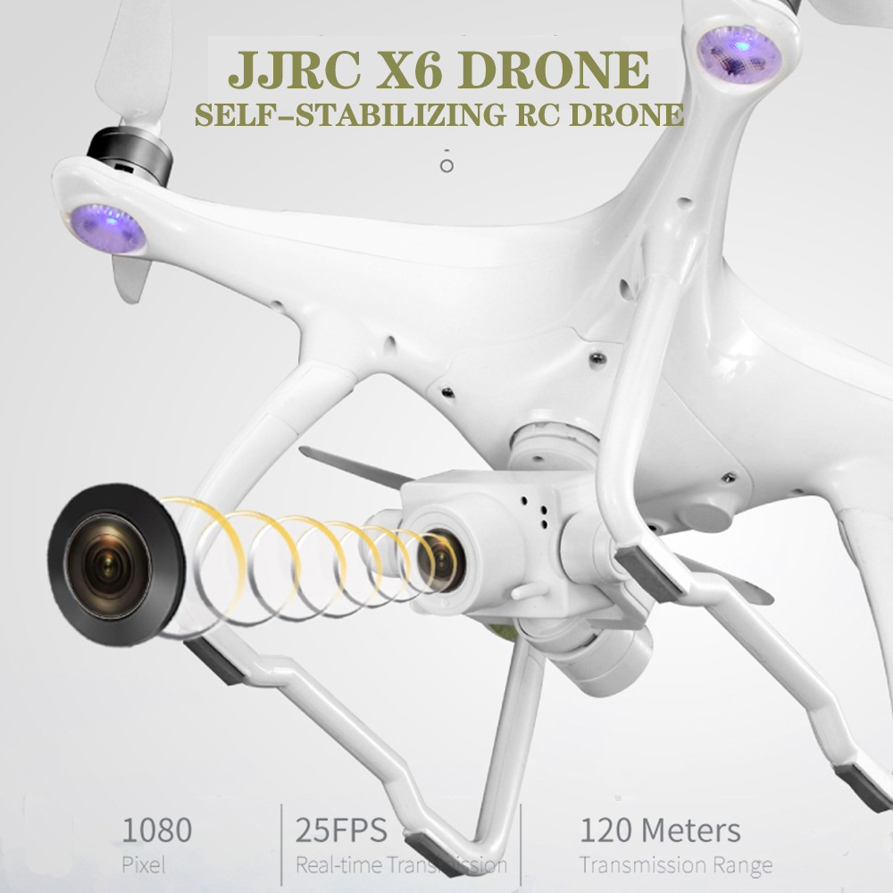 JJRC X6 Drone 5G WIFI FPV Double GPS With Wide Angle 2K Camera Helicopter Self-stabilizing Twoaxis Quadcopter Profissional Drone