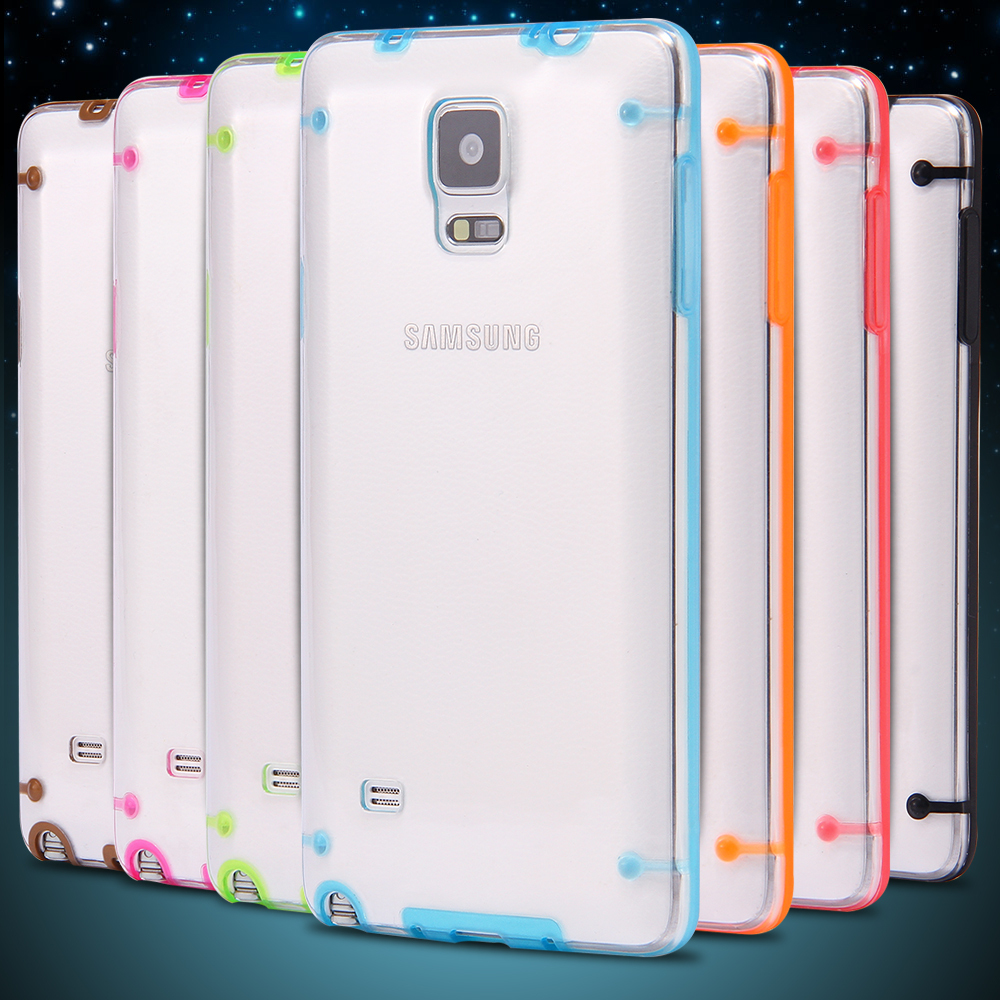 Case Design clear cell phone cases bulk ... Clear Transparent TPU Gel Cell Cover For Note4-in Phone Bags u0026 Cases