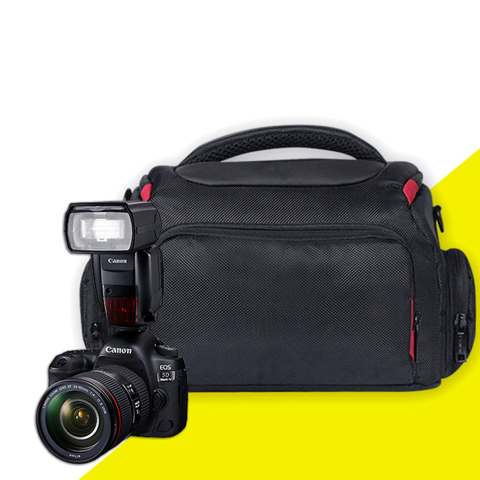 L M S Waterproof Camera Case Bag Travel Shoulder Bag for Canon EOS 5D Mark IV