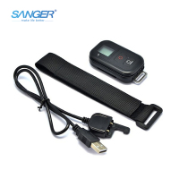 SANGER for GoPro Accessories Remote Control +Wrist Band+Charger Cable for Go Pro Hero 5 4 3+ 3 Session Remote
