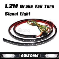 Free Shipping 47 120mm Running/Brake/Reverse/Signal LED TAILGATE TAIL LIGHT BAR STRIP TRUCK SUV