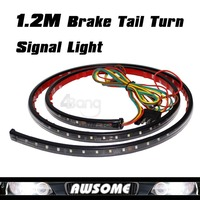 Free Shipping 47 120mm Running Brake Reverse Signal LED TAILGATE TAIL LIGHT BAR STRIP TRUCK SUV