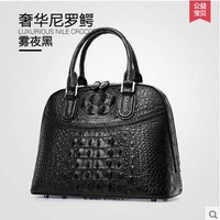 2016 New Import Gete Really Crocodile Skin Bag Women Handbags Real Leather Fashion Trends Europe And