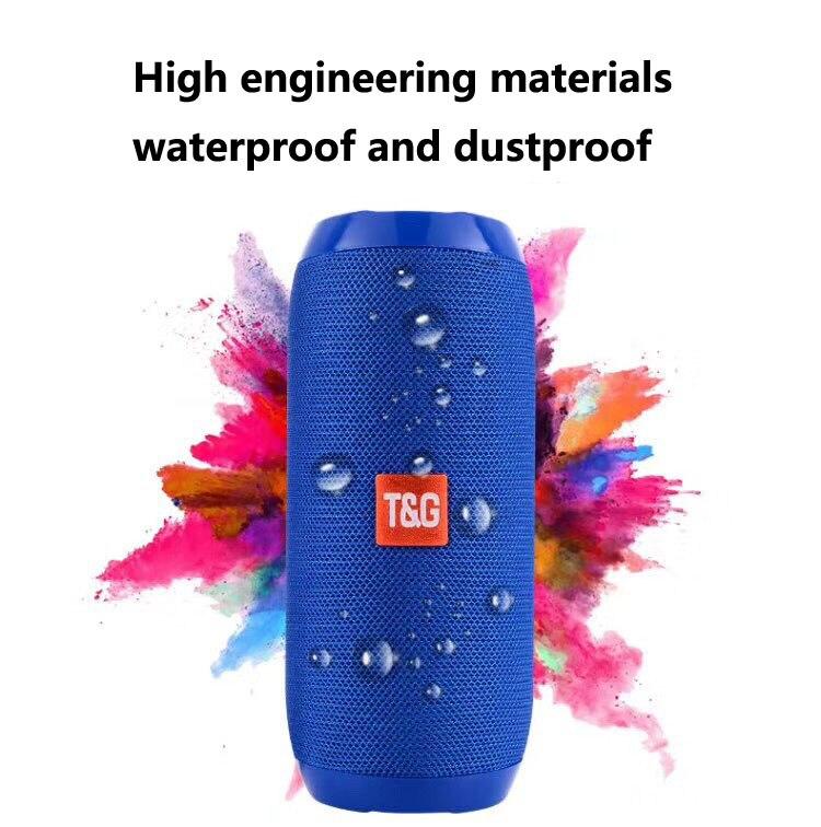 Portable Intelligent Wireless Bluetooth Speaker Waterproof Outdoor Multifunctional Stereo Bluetooth Speaker Electronic Products
