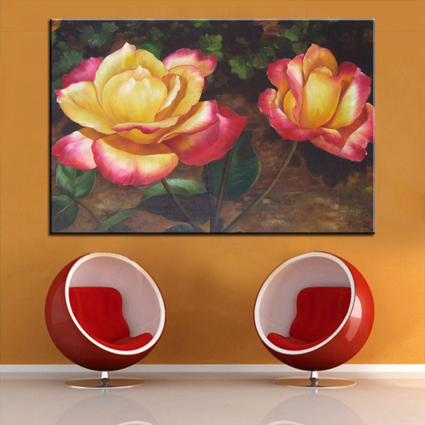 Dp artisan golden yellow flowers wall painting print on canvas for dp artisan golden yellow flowers wall painting print on canvas for home decor oil painting arts no framed wall pictures in painting calligraphy from home mightylinksfo