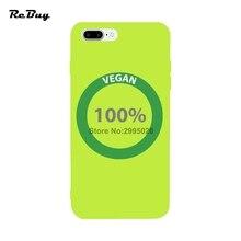 100% VEGAN phone cover for iPhone 7/7plus 6/6s 6plus