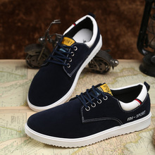 New 2016 Autumn Men's Casual Shoes Fashion Lace-Up Men Suede Leather Shoes Loafers Comfortable Men Shoes Zapatos Hombre 8