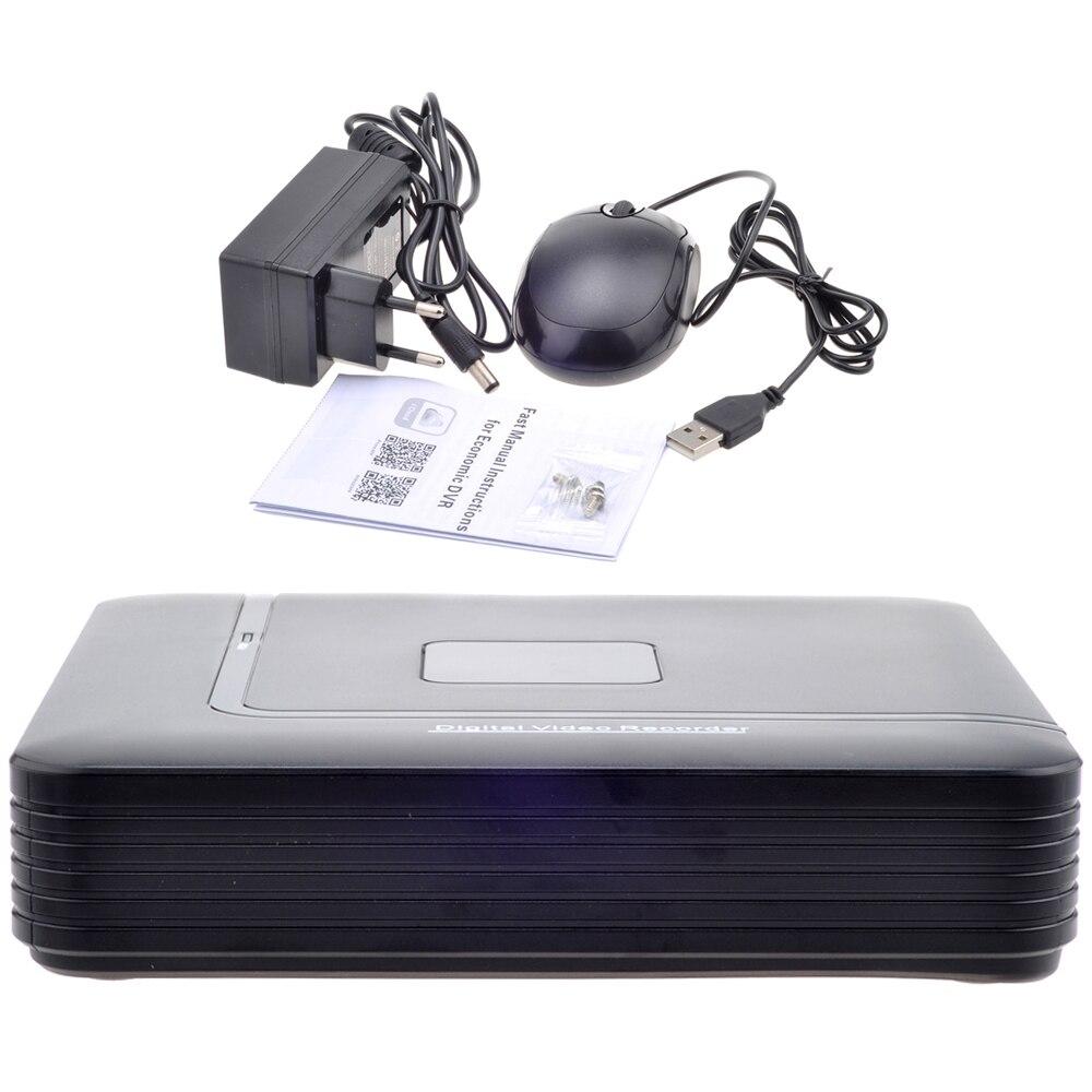 AHD 1080N 4CH 8CH CCTV DVR Mini DVR 5IN1 For CCTV Kit VGA HDMI Security System Mini NVR For 1080P IP Camera Onvif DVR PTZ H.264 6