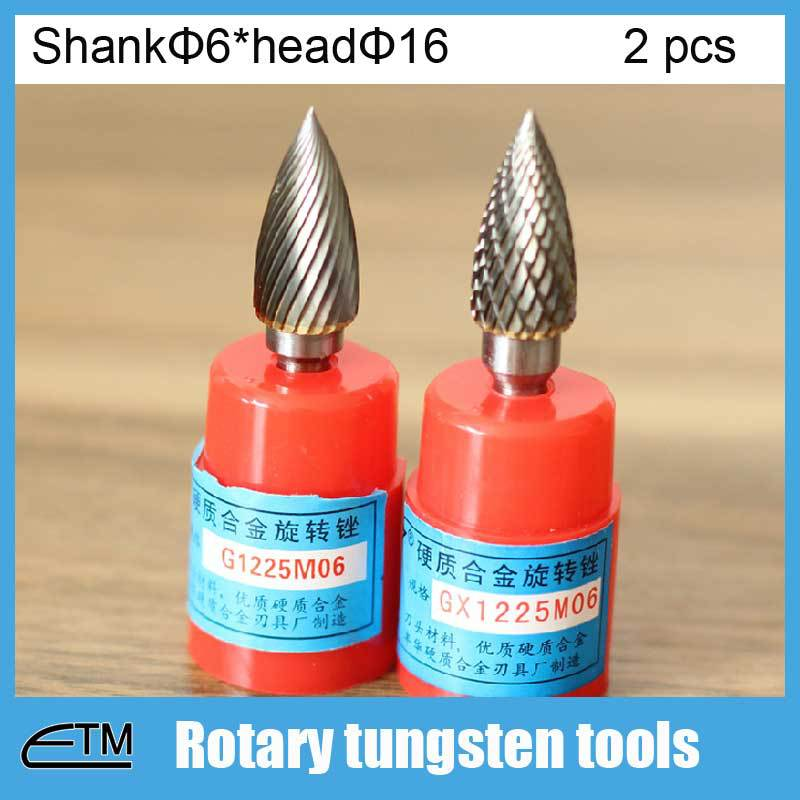 2pcs dremel Rotary tool heart arrow shape tungsten twist drill bit for metal wood stone bone drilling shank 6mm head 16mm DT079 new 10pcs jobbers mini micro hss twist drill bits 0 5 3mm for wood pcb presses drilling dremel rotary tools