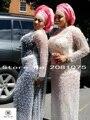 Nueva llegada de cordón africano telas de encaje de alta calidad Verde de encaje tela de encaje guipur para el vestido de fiesta. de Nigeria cuentas de encaje tela