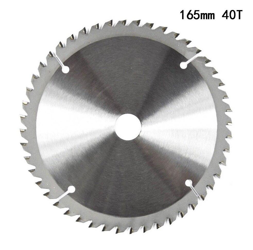 цена на 165mm 40T 20mm Bore TCT Circular Saw Blade Disc for Dewalt Makita Ryobi Bosch