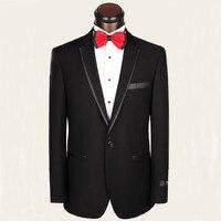 Suknia ślubna męska koszulka z wysokiej jakości materiału wełny garnitur garnitur groom wedding party dress elegancki dżentelmen biznesu męska garnitur
