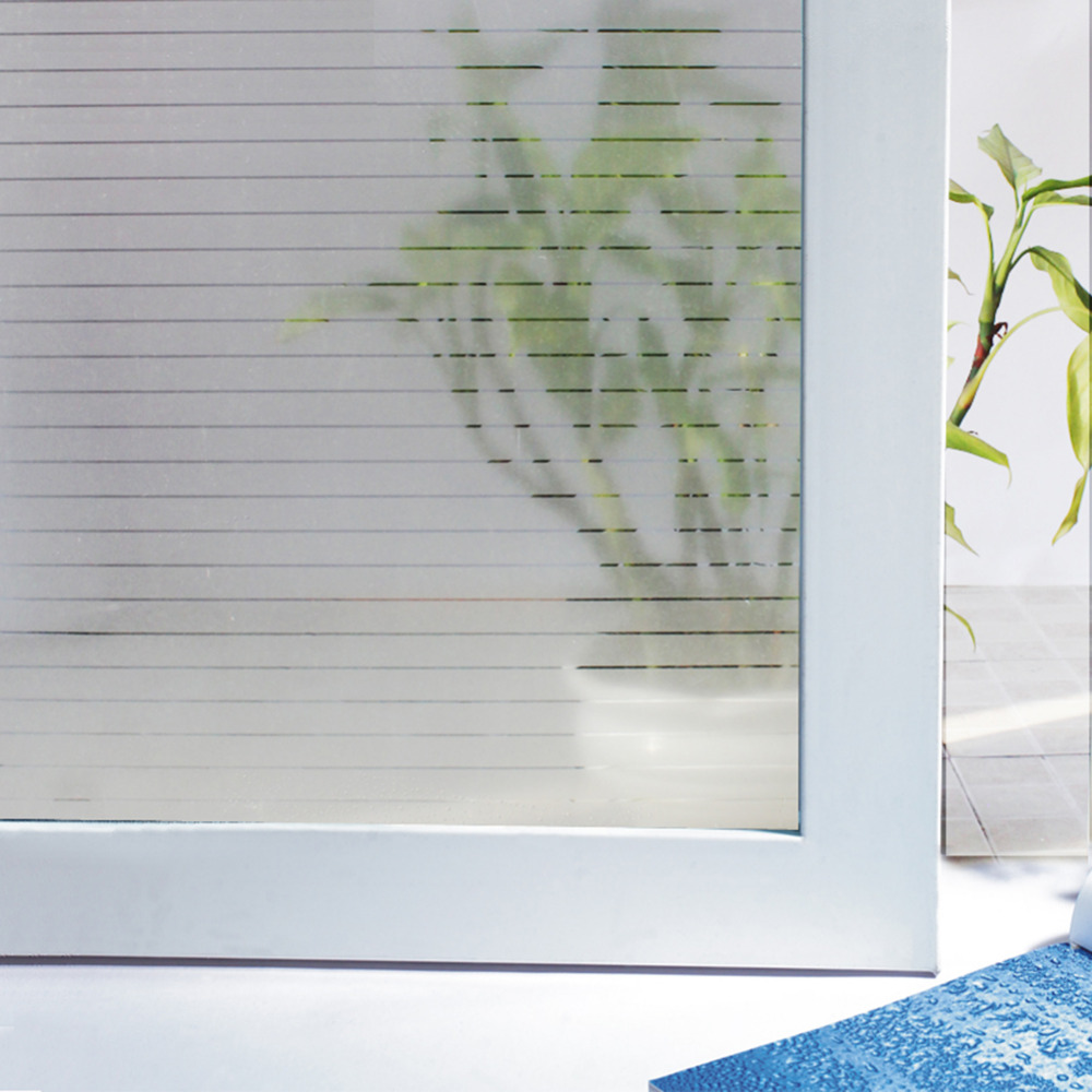 Frosted Privacy Decorative Window Film By Mtr Easy Fit DIY