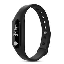 Смарт-браслеты C6 Bluetooth 4.0 браслет монитор сердечного ритма Смарт фитнес-трекер Шагомер Sleep Monitor для iOS и Android