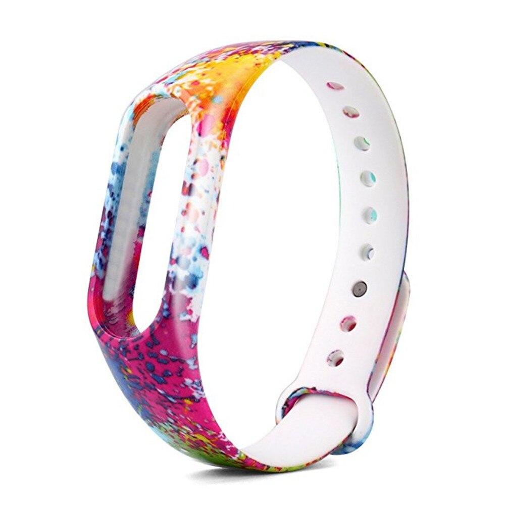 New 1PC Replacement Silica Gel Wristband Watch Strap For Xiaomi Mi Band 2 Bracelet ja10ja24 x9 plus smart bracelet with silica gel red