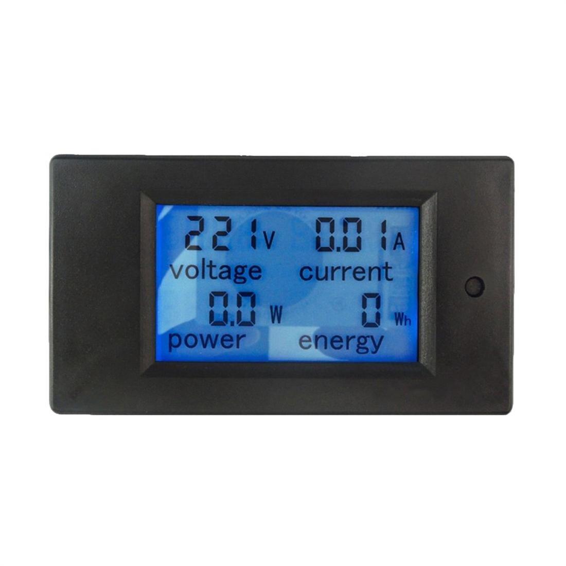 20a Digital Power Meter Lcd Genaue Voltmeter Amperemeter Kwh Watt Energie Meter Spannung Strom Power Monitor Tester