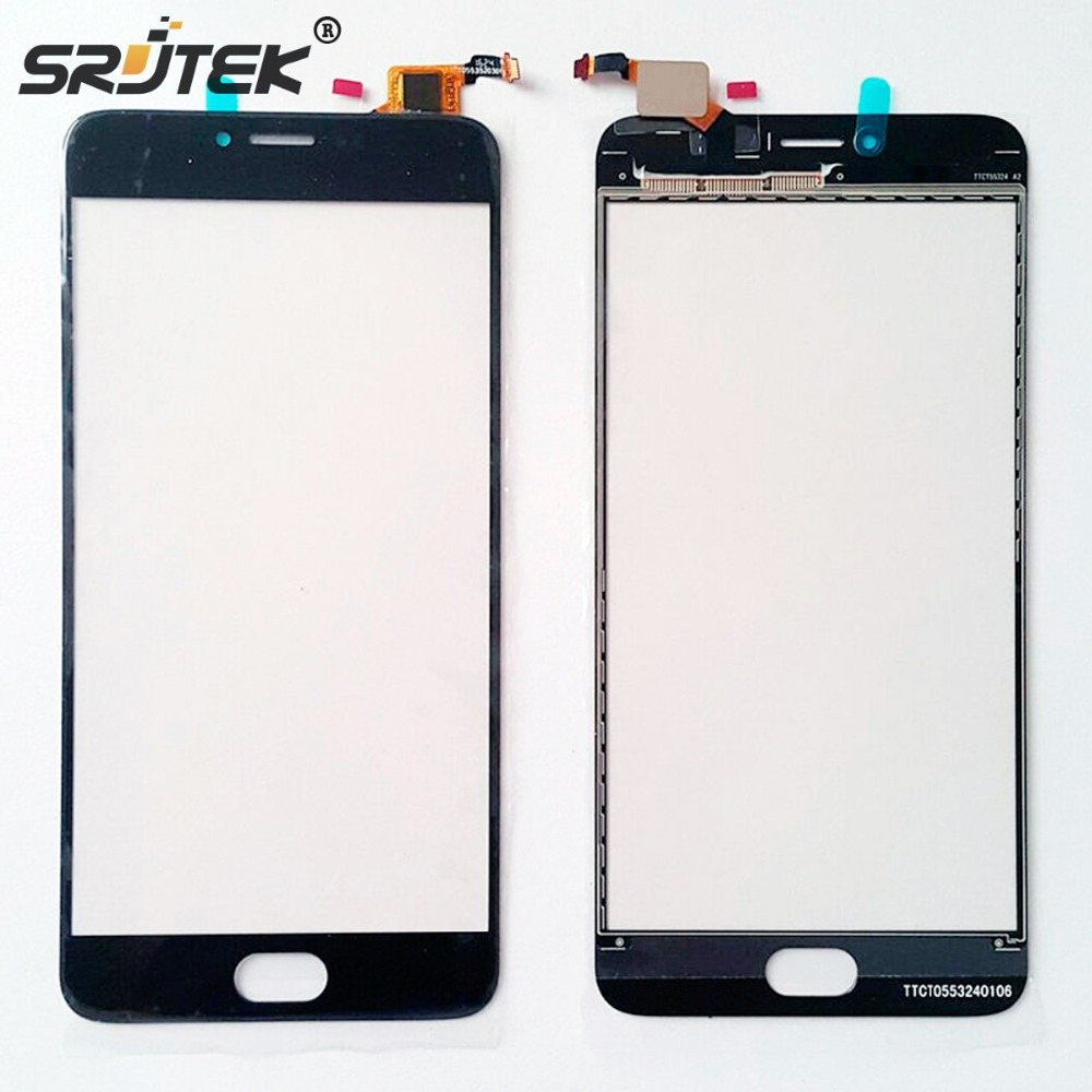srjtek 5.5 inch For Meizu M3 Note L681H touch screen digitizer front glass Replacement for meizu M3 Note sensor lens +tools