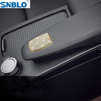 Armrest Box Sticker For Mercedes Benz C Class C180 C260 C300 W204 2010 2013 Accessories Car Styling