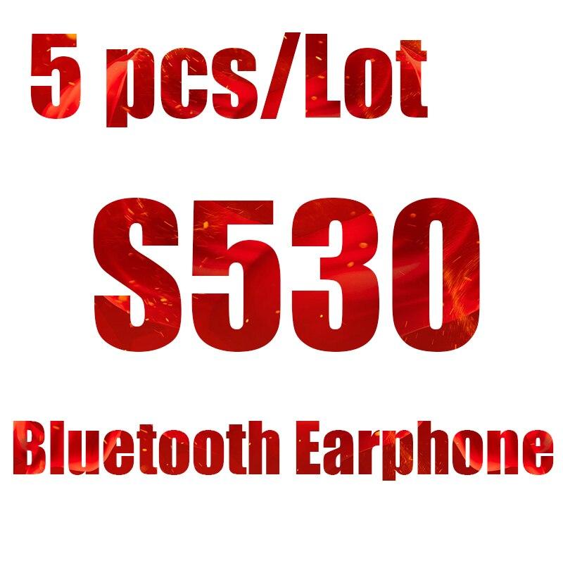 FORNORM S530 Mini Wireless Bluetooth Earphone in Ear Sport with Mic Earphones Hands Free Headset Earphone Earphone for iPhone 7 10pcs mini blutooth earphone small wireless s530 headset microphone earphone micro s530 earpiece sport headphones for xiomi sony