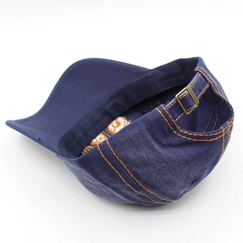 100% բամբակյա բեյսբոլի գլխարկ Snapback - Հագուստի պարագաներ - Լուսանկար 5