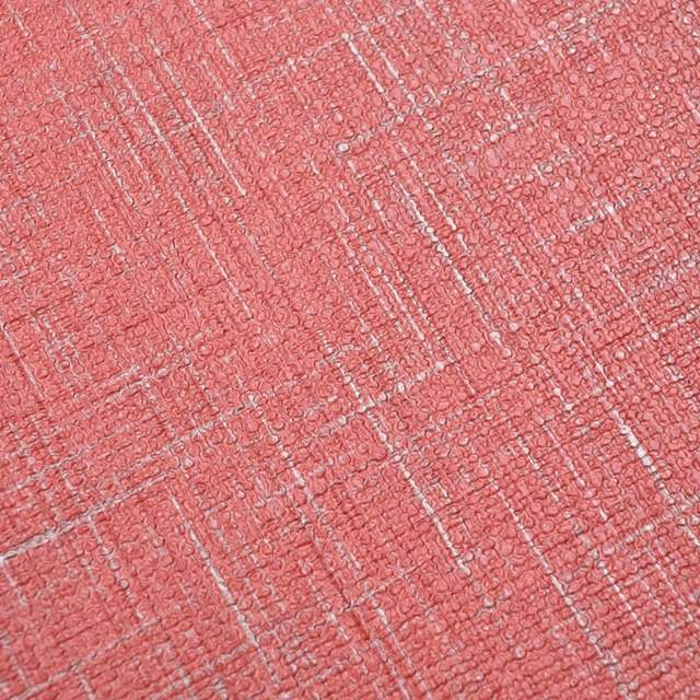 Placeholder Modern Solid Color Vinyl Linen Textured Wallpaper Plain Red Wall Paper Roll For Living Room Walls